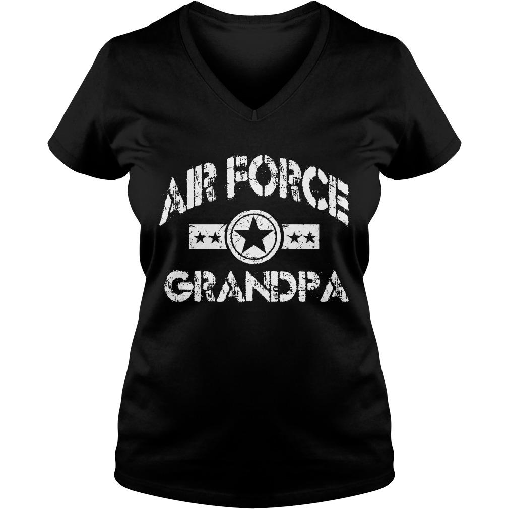 Air Force Grandpa Vneck
