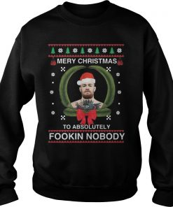 All I Want To Do Is Bake Christmas Cookies Drink Hot Chocolate And Watch The Nightmare Before Ugly Christmas Sweat Shirt