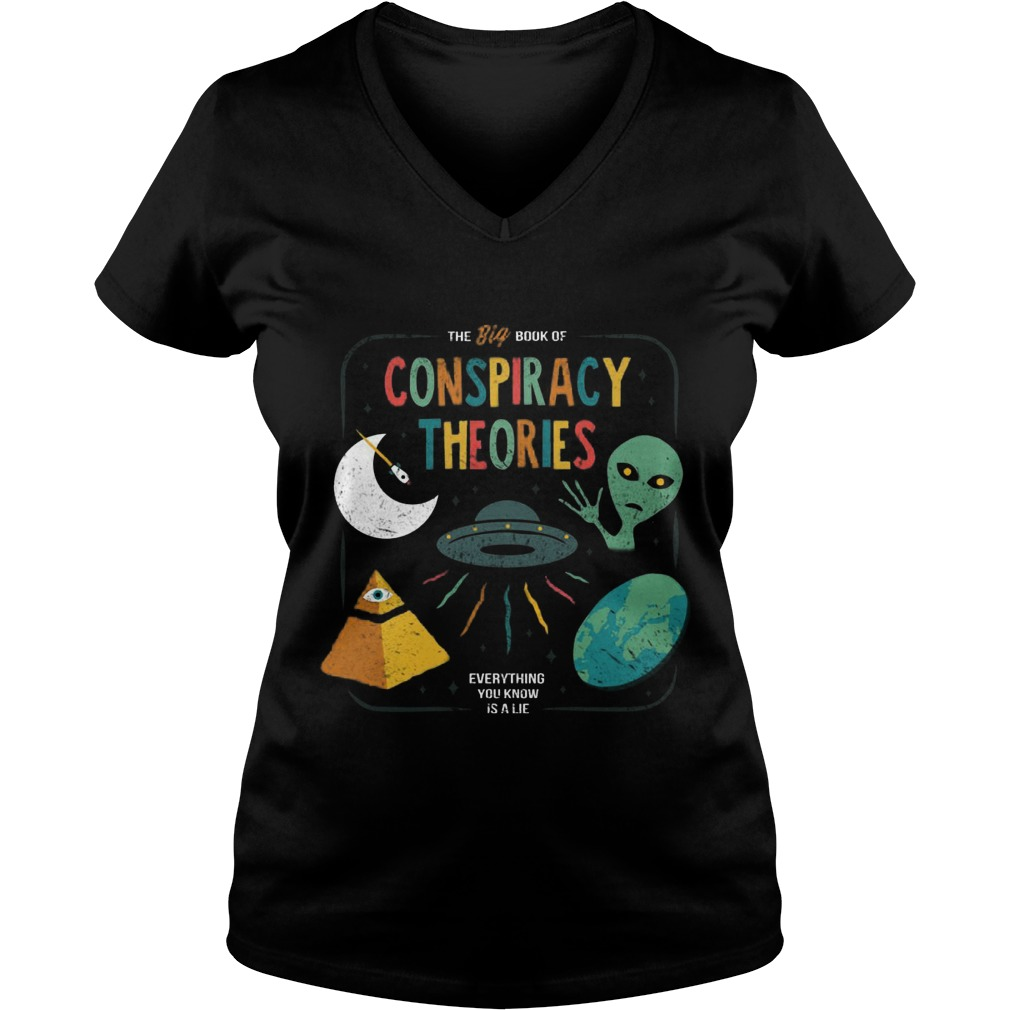 Big Book Conspiracy Theories Everything Know Lie Vneck