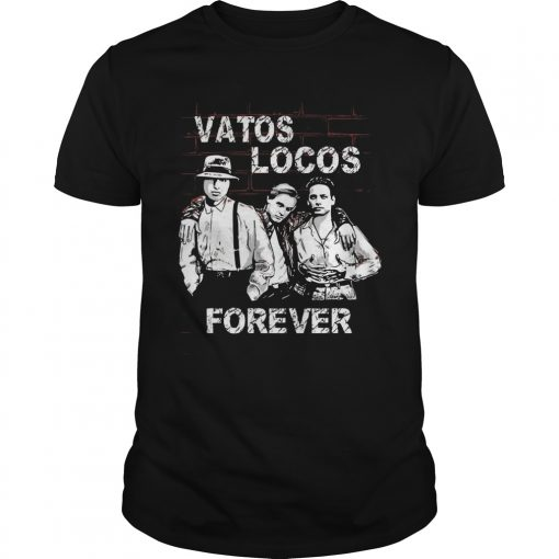 Blood Blood Vatos Locos Forever Guys Tee