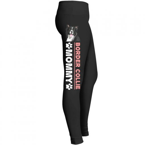 Border Collie Mommy Leggings