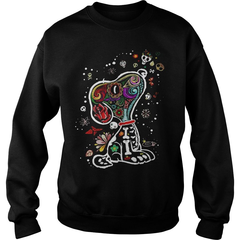 Calavera Snoopy Sweatshirt