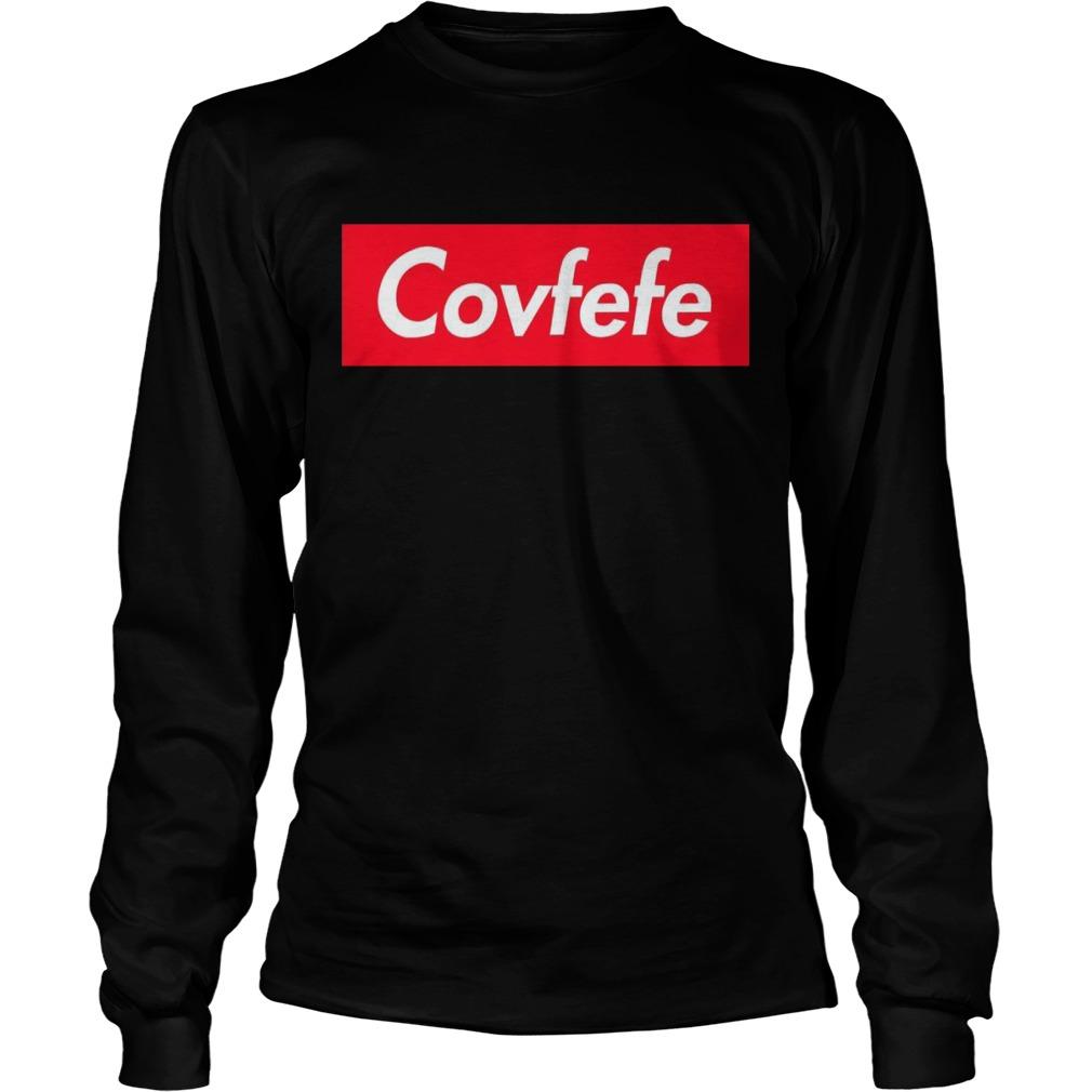 Covfefe Supreme Logo Box Longsleeve