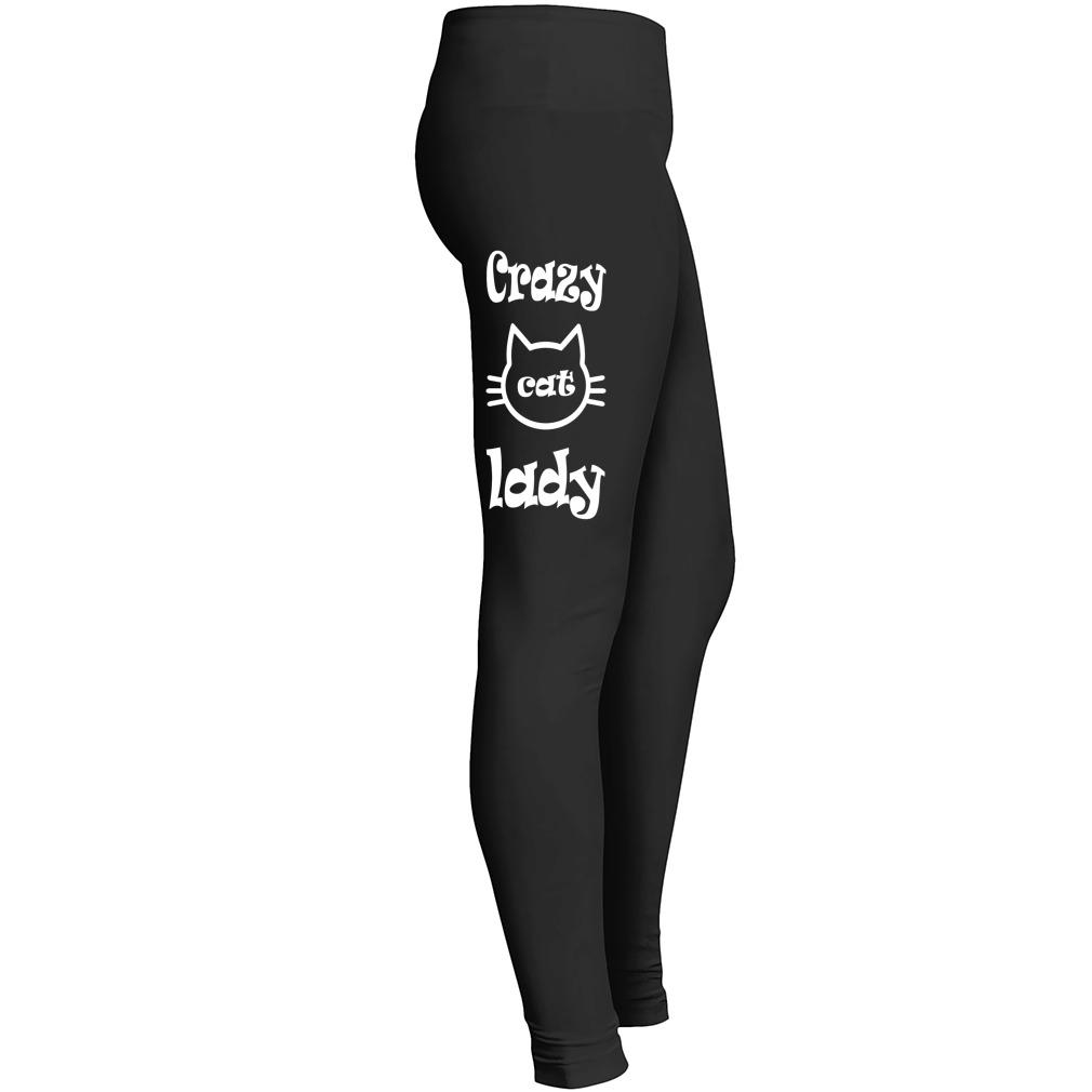 Crazy Cat Lady Leggings