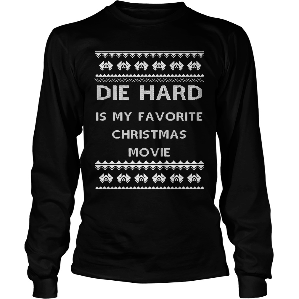 Die Hard Favourite Christmas Movie Longsleeve Tee