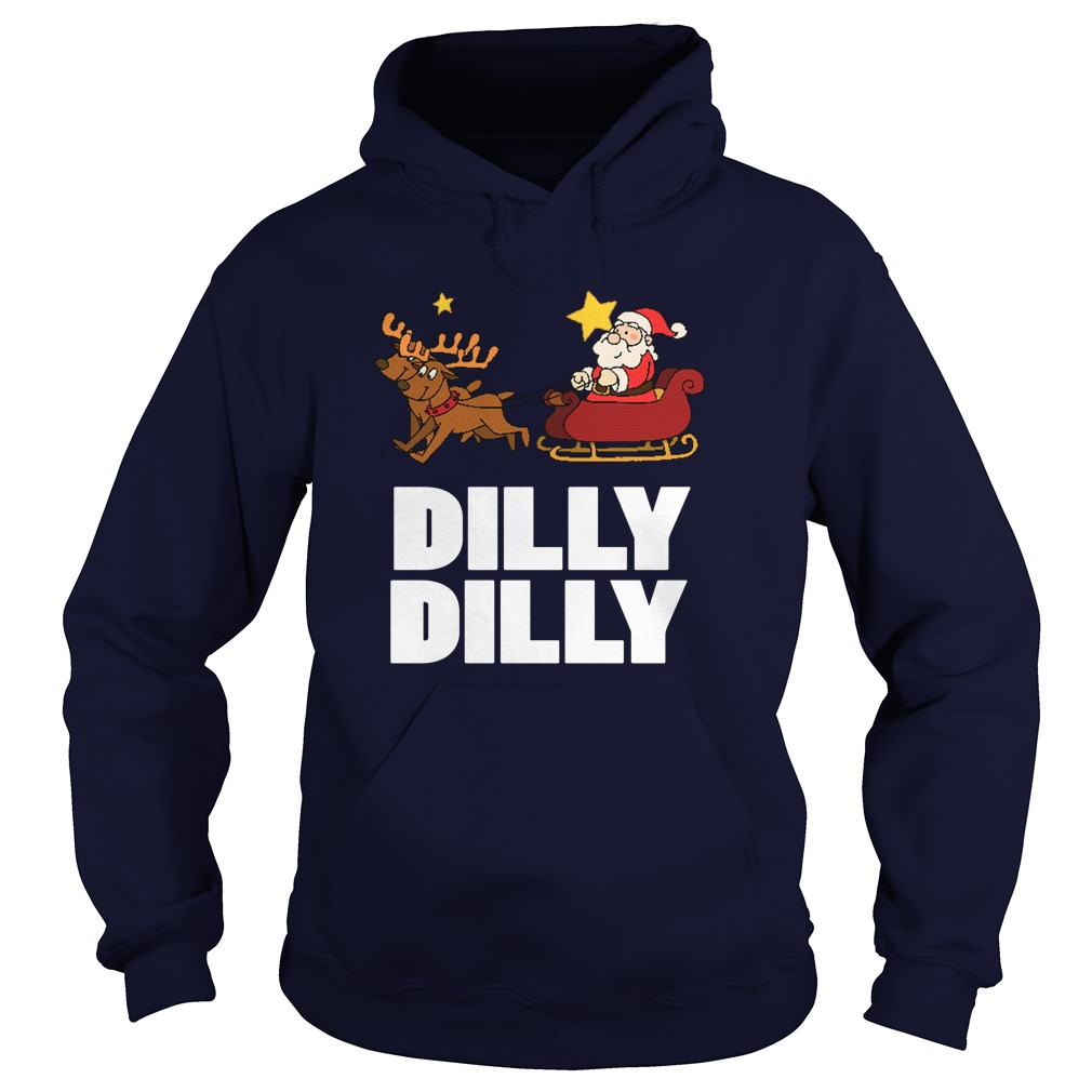Dilly Dilly Santa Clauss Reindeer Sweat Hoodie