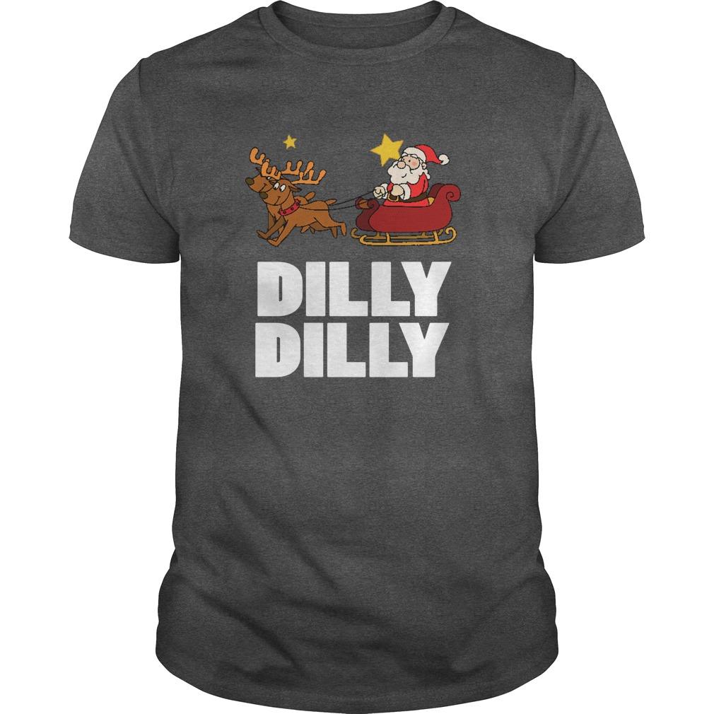 Dilly Dilly Santa Clauss Reindeer Sweat Tank Top
