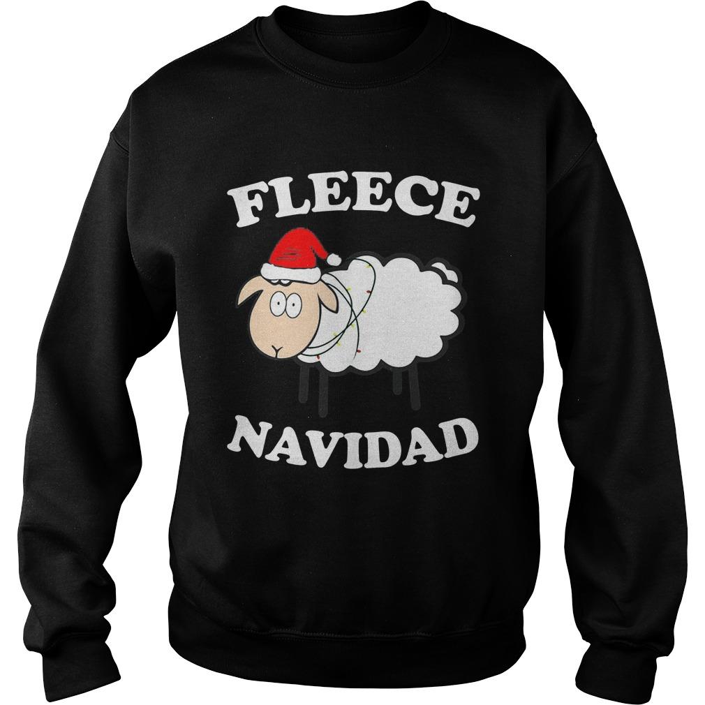 Fleece Navidad Sweat Shirt