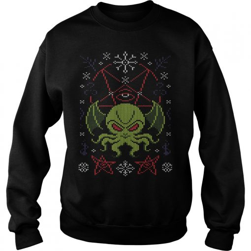 Hail Cthulhu Ugly Sweater