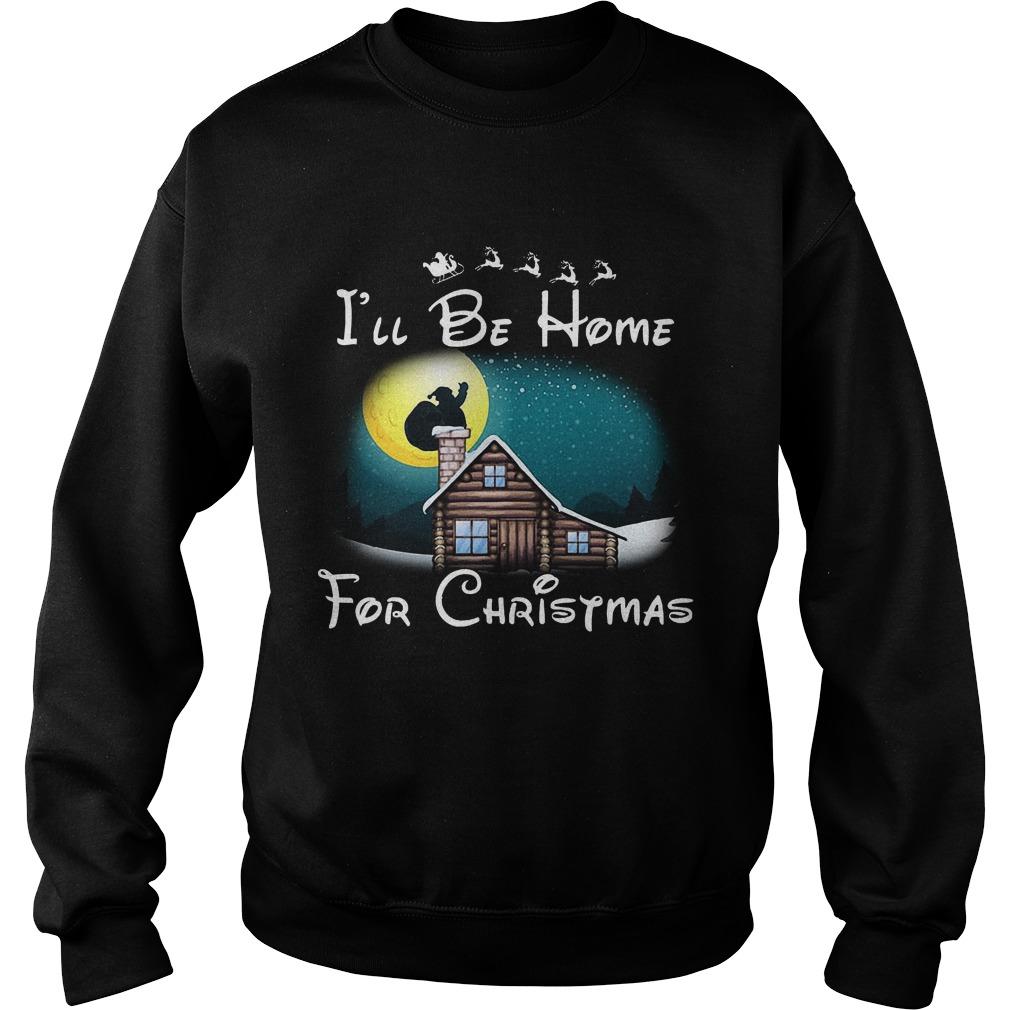 Ill Home Christmas Sweat Shirt