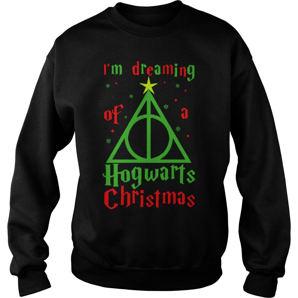 Im Dreaming Of Hogwarts Christmas Sweat Shirt