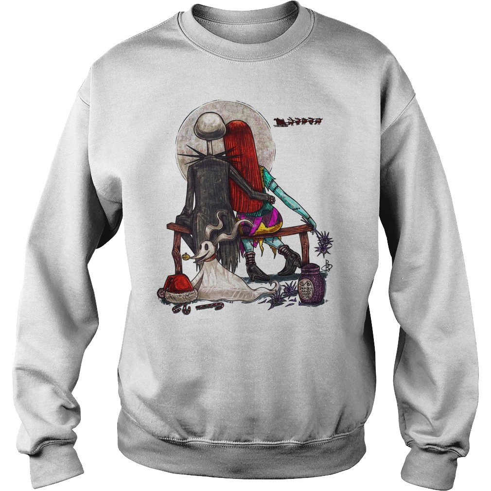 Jack Skellington Sally Little Nightmares Sweater