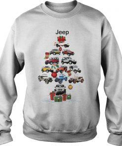 Jeep Christmas Tree Sweat Shirt