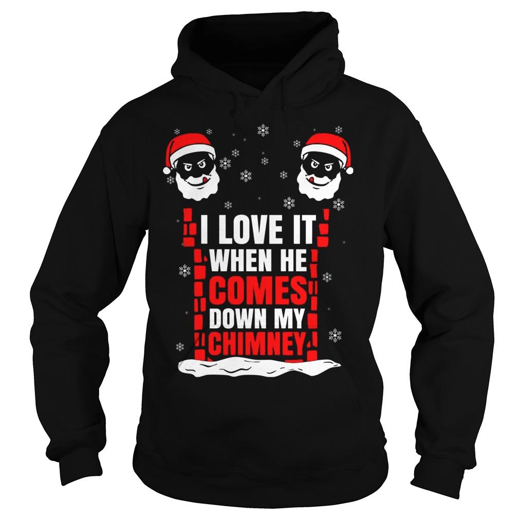 Love Comes Chimney Hoodie