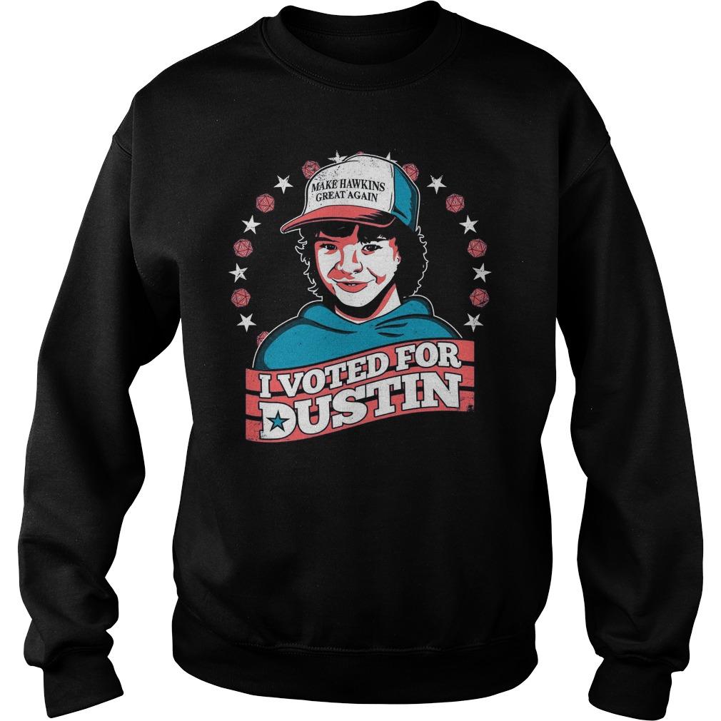 Make Hawkins Great Voted Dustin Sweater