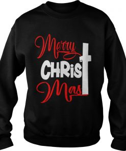 Merry Christmas Cross Sweater