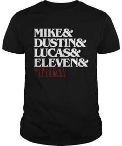 Mike Dustin Lucas Eleven Will Shirt