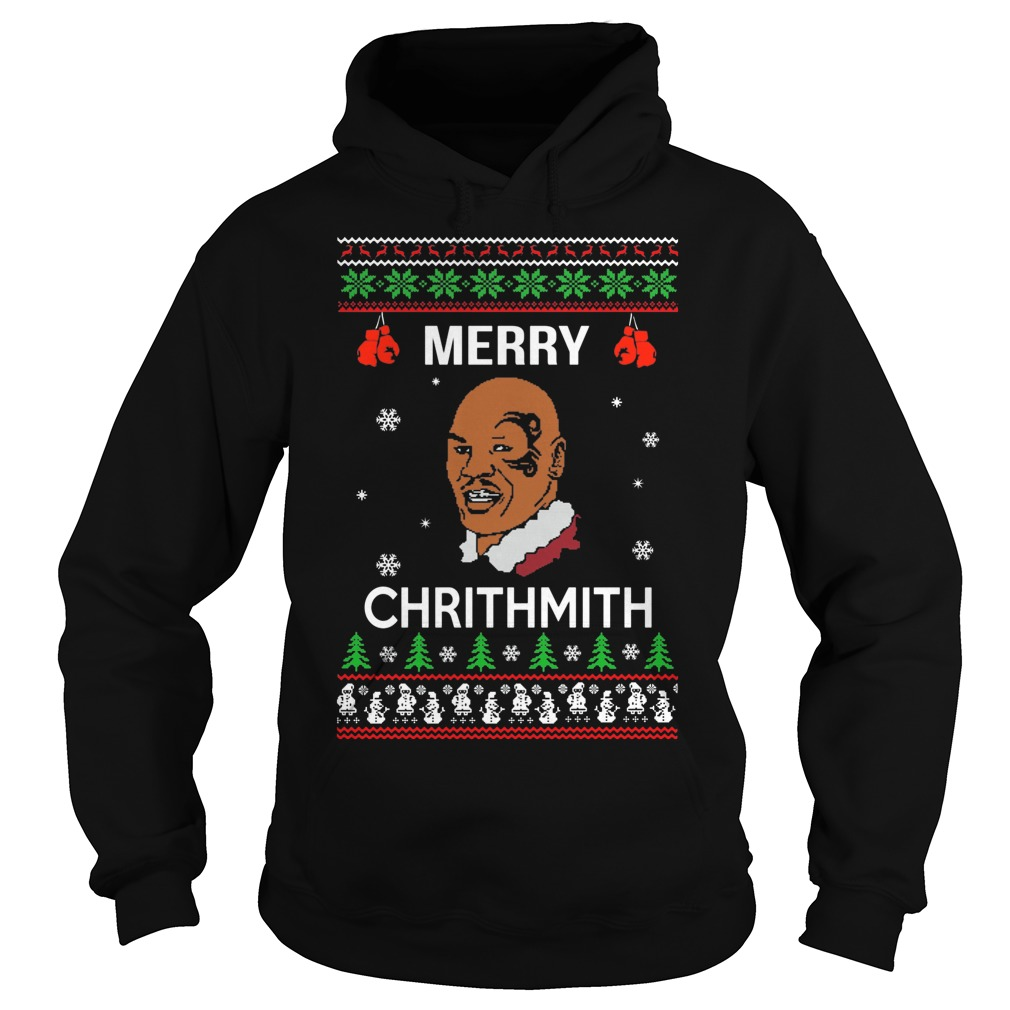 Mike Tyson Merry Chrithmith Christmas Hoodie