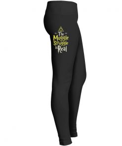 Muggle Struggle Real Leggings