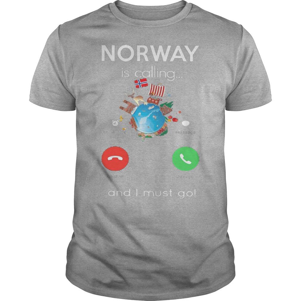 Norway Calling Must Go Guys Tee