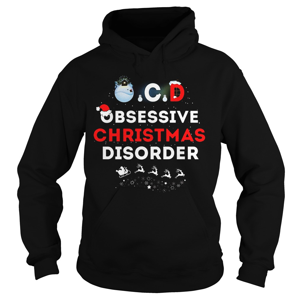 Obsessive Ugly Christmas Disorder Hoodie