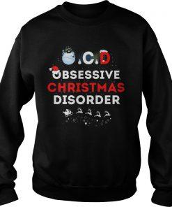 Obsessive Ugly Christmas Disorder Sweat Shirt
