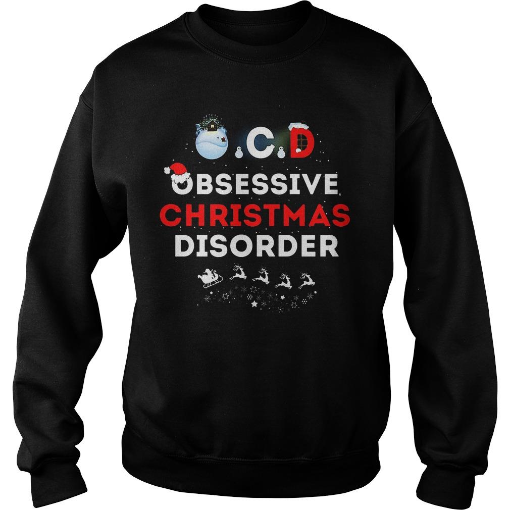 Obsessive ugly christmas disorder sweater, hoodie, sweater, longsleeve