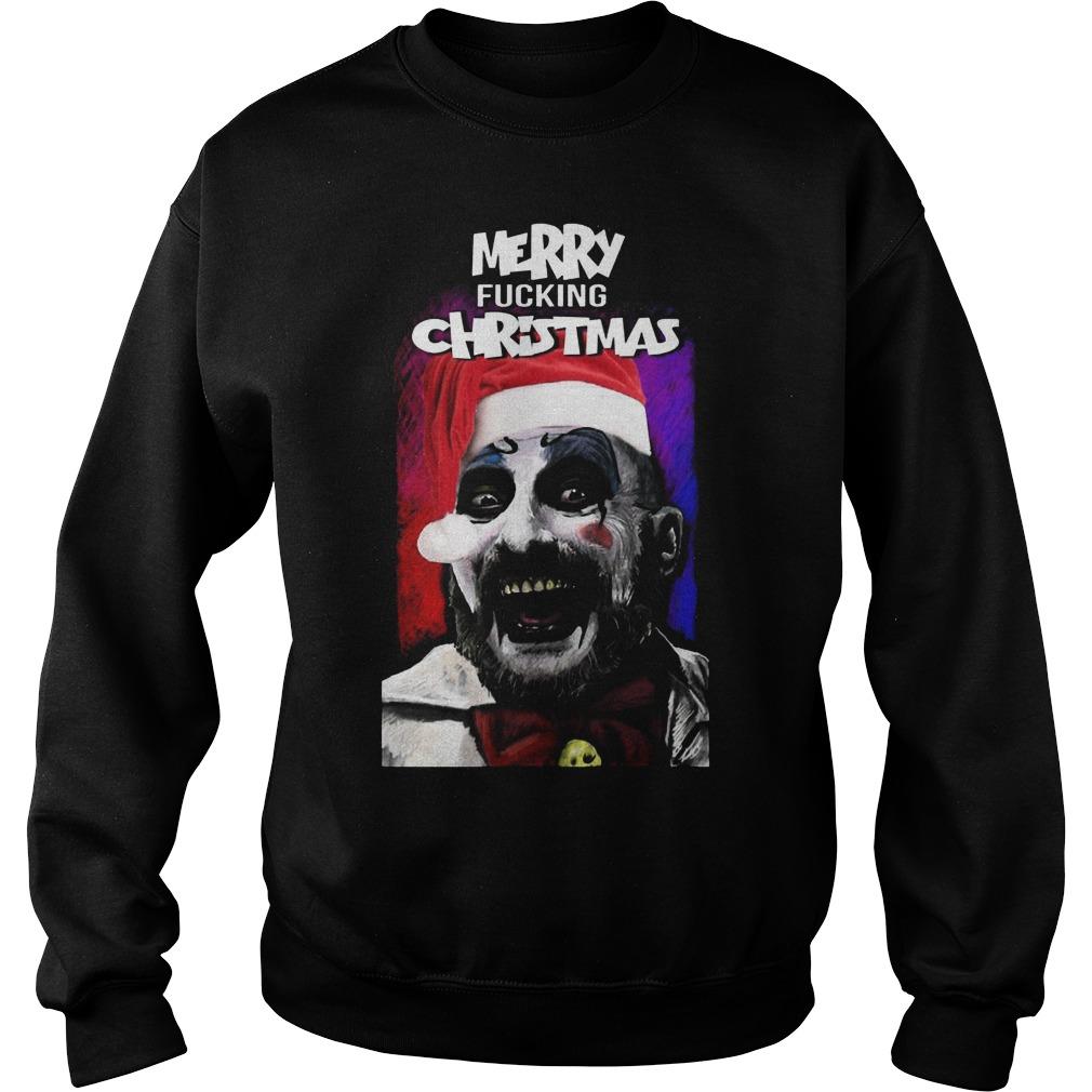 Rob Zombie Merry Fucking Christmas Gildan Sweat Shirt