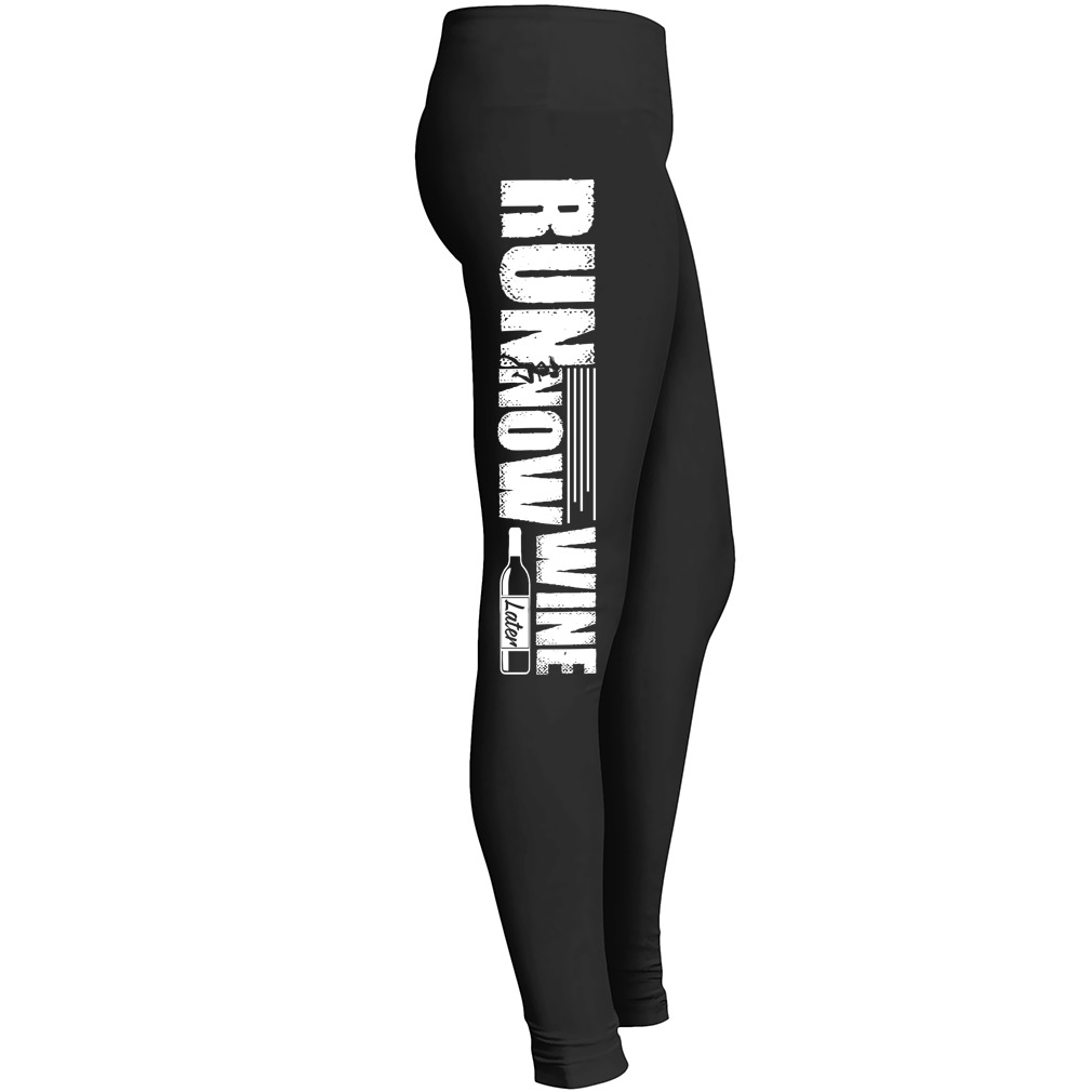 Run Now Wine Later Leggings 2