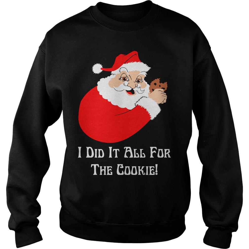 Santa Cookie Sweat Shirt