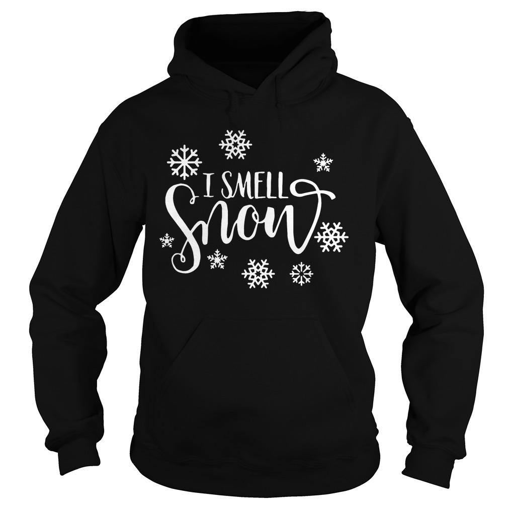 Snowfall Smell Snow Sweat Shirt Hoodie Sweater Longsleeve Hoodie