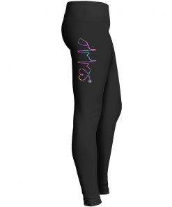 Stethoscope Heartbeat Leggings