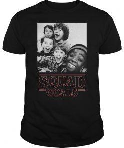 Stranger Things Squad Goals Shirt Hoodie Sweater Longsleeve T Guys Tee