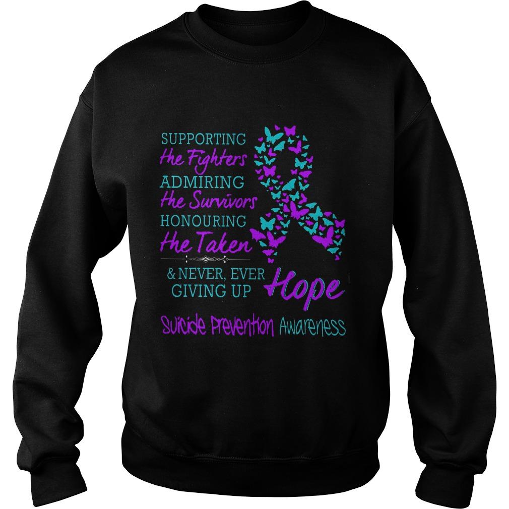 Suicide Prevention Awareness Sweatshirt