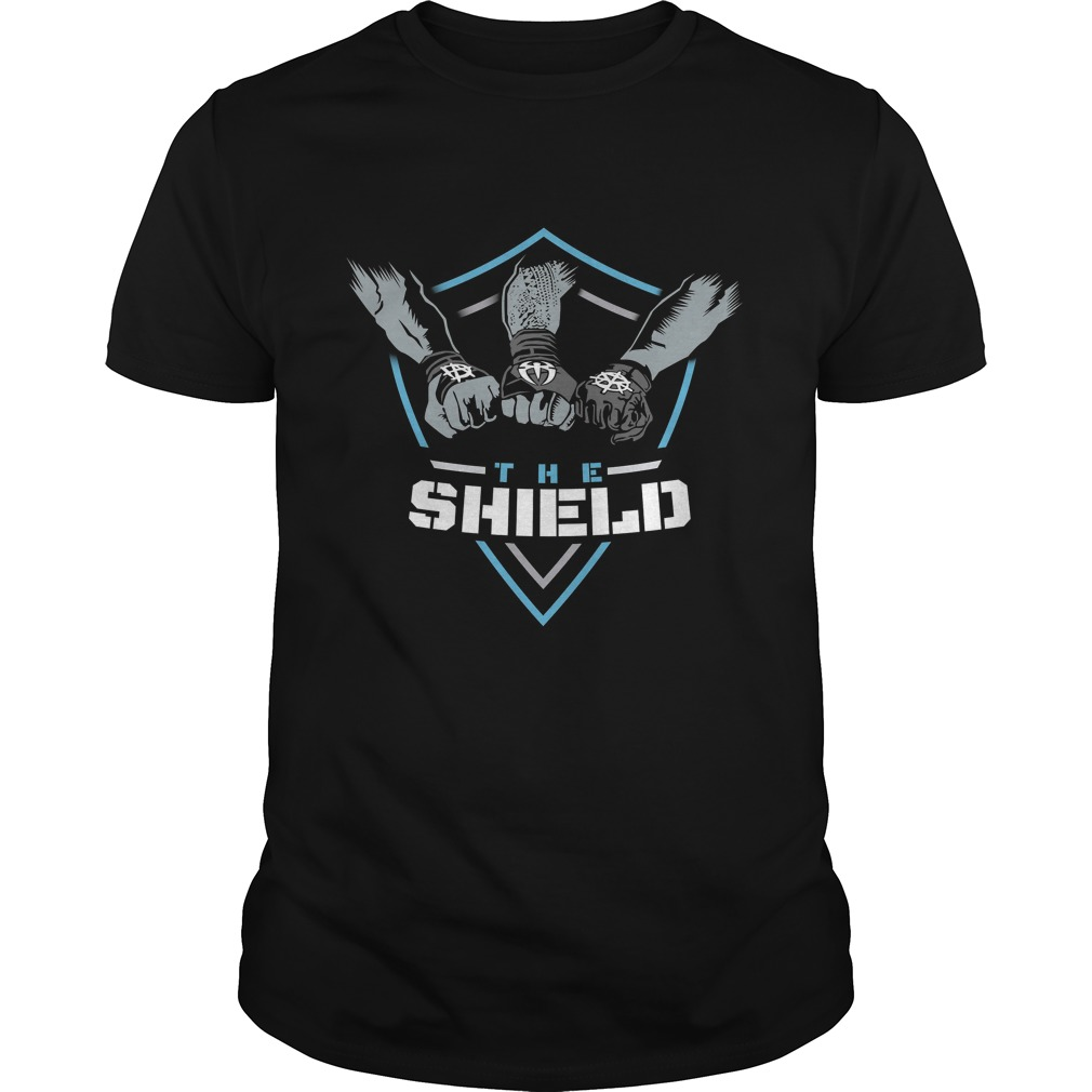 The Shield Blue Logo Guys Tee