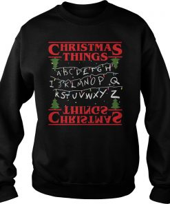 Ugly Christmas Things Sweat Shirt