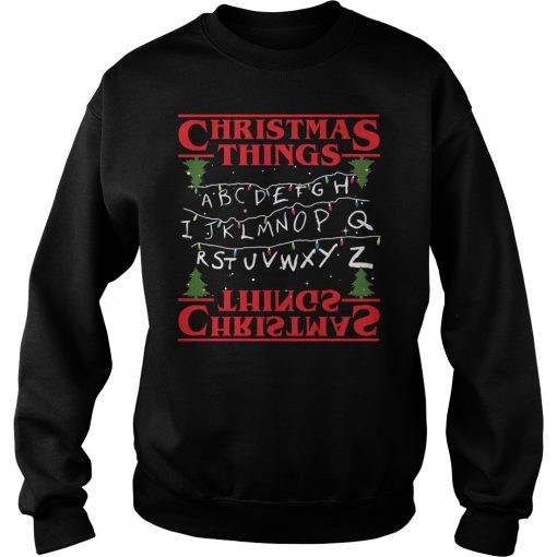 Ugly Christmas Things Sweat Shirt