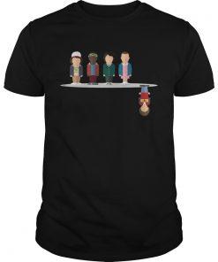 Upside Stranger Things Character Shirt