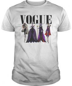 Vogue Disney Villains Evil Divas Paco Chicano Shirt