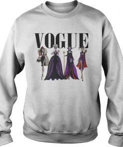 Vogue Disney Villains Evil Divas Paco Chicano Sweat Shirt