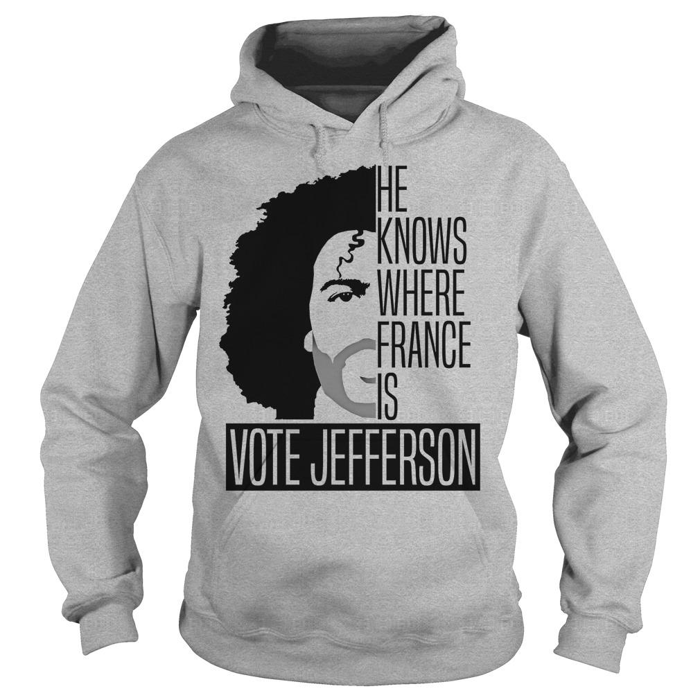 Vote Jefferson Hoodie