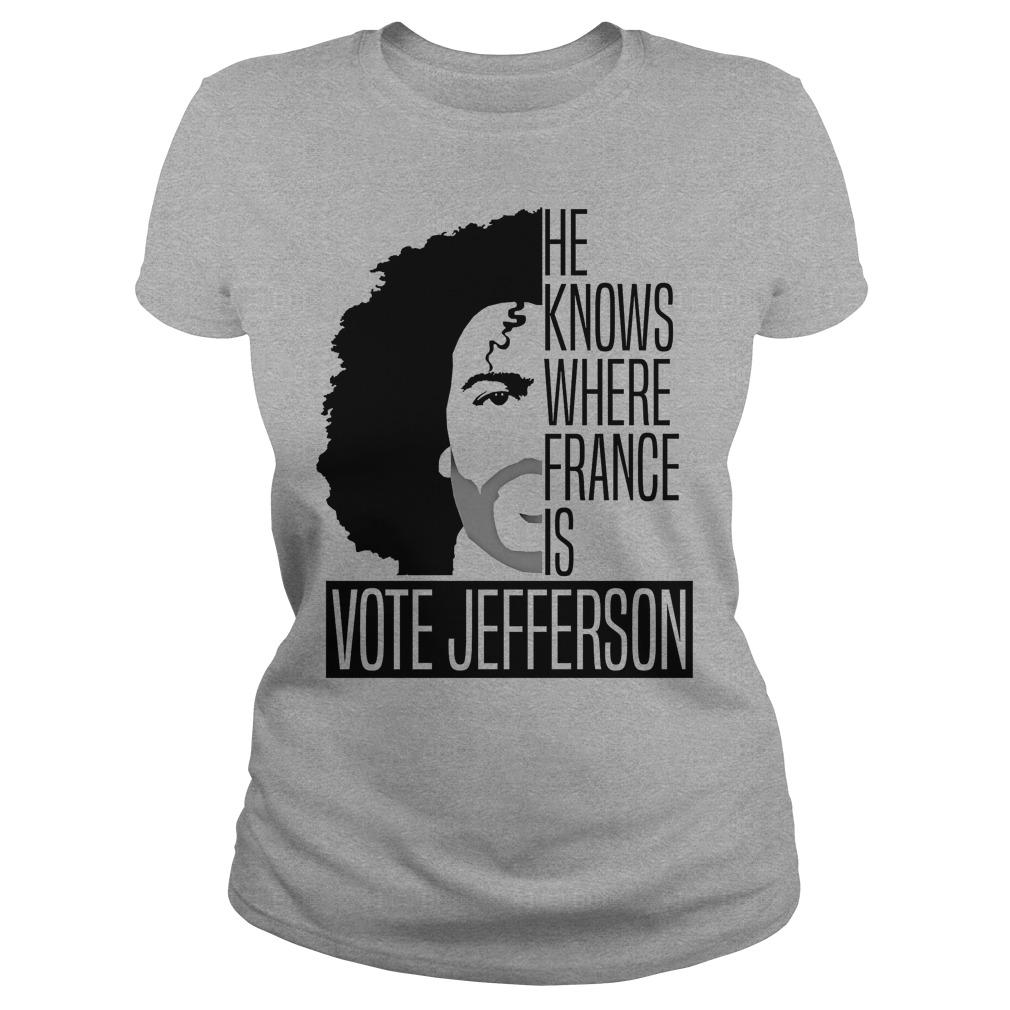 Vote Jefferson Ladies Tee