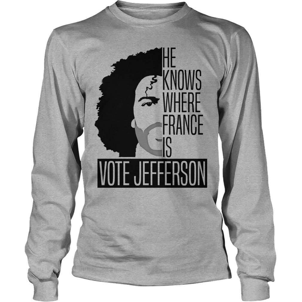 Vote Jefferson Longsleeve