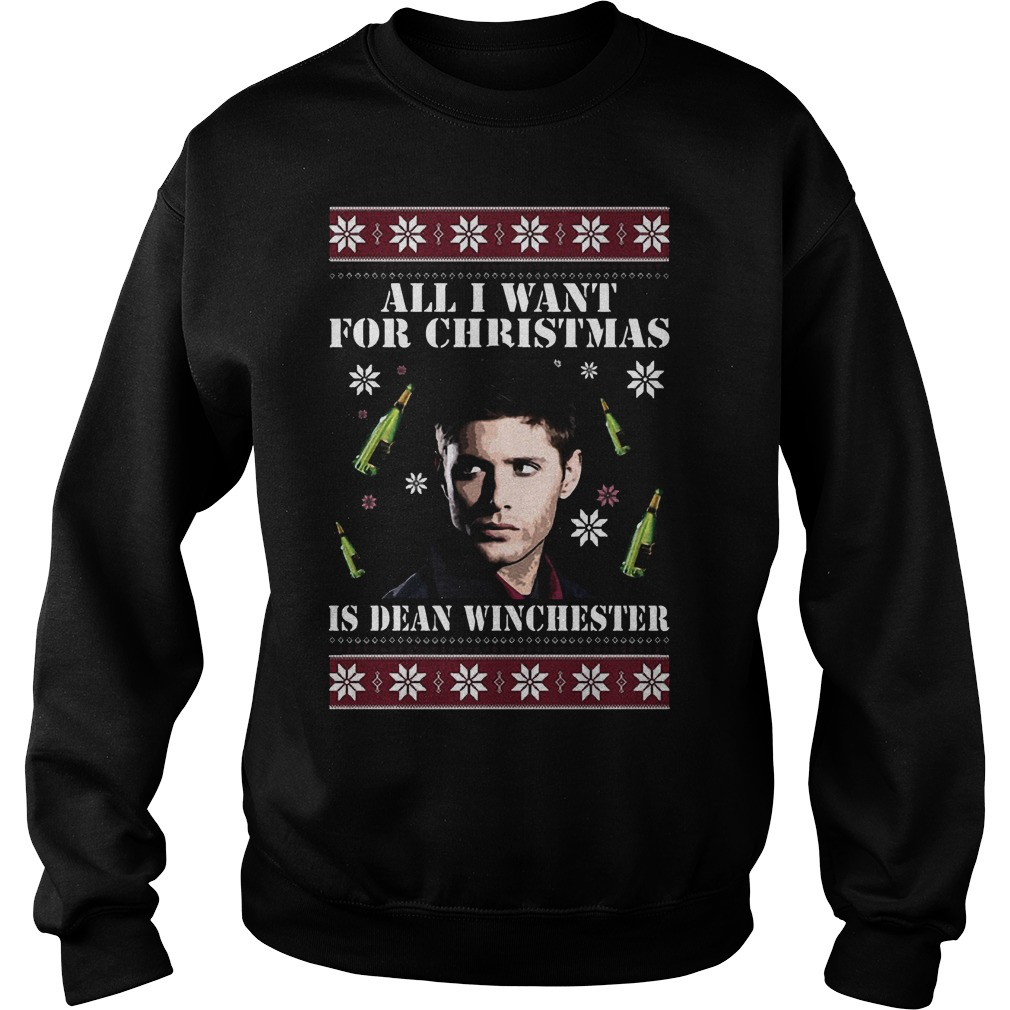 Want Christmas Dean Winchester Sweater