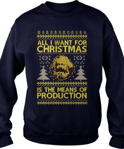 Want Christmas Means Production Sweater