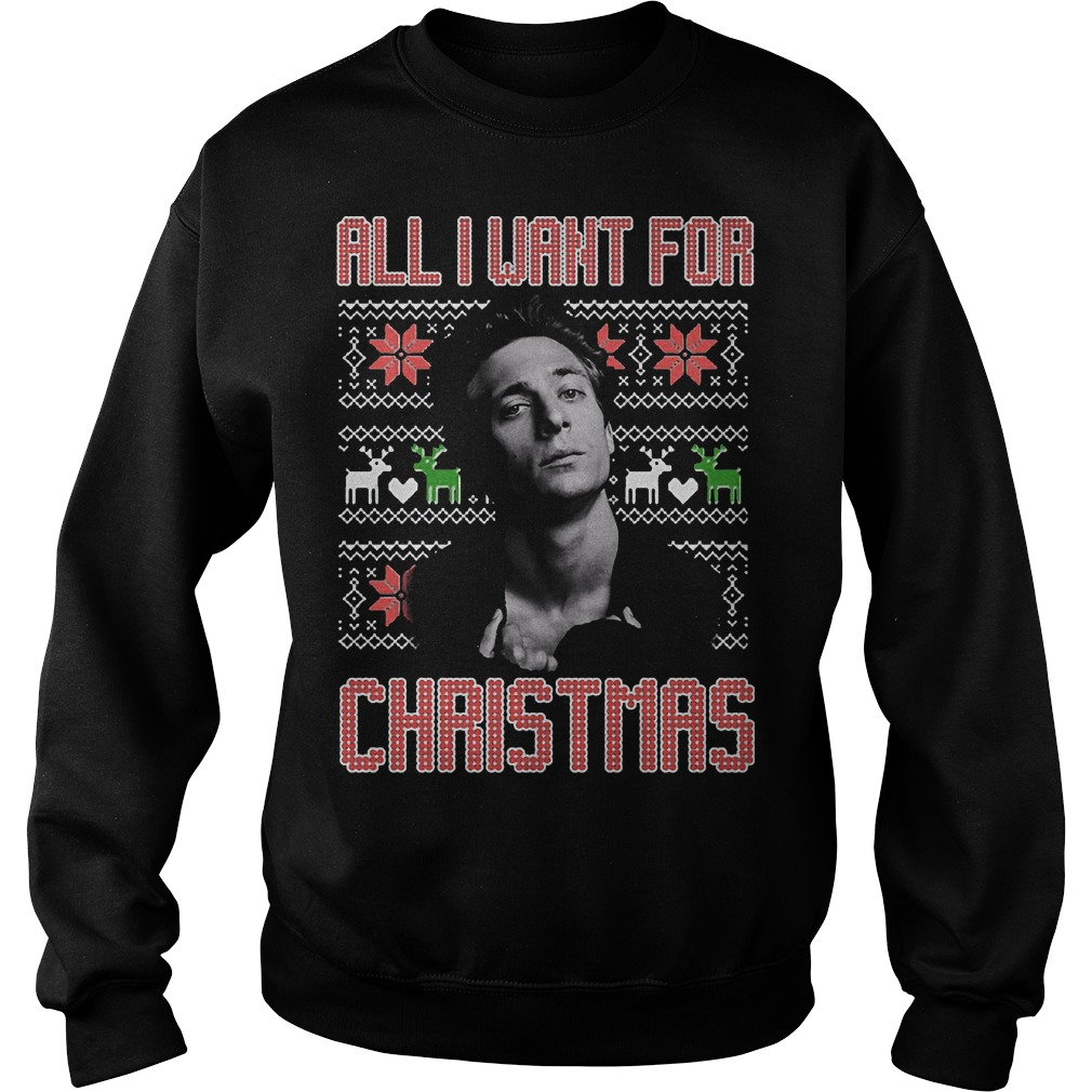 Want Christmas Shameless Sweat Shirt