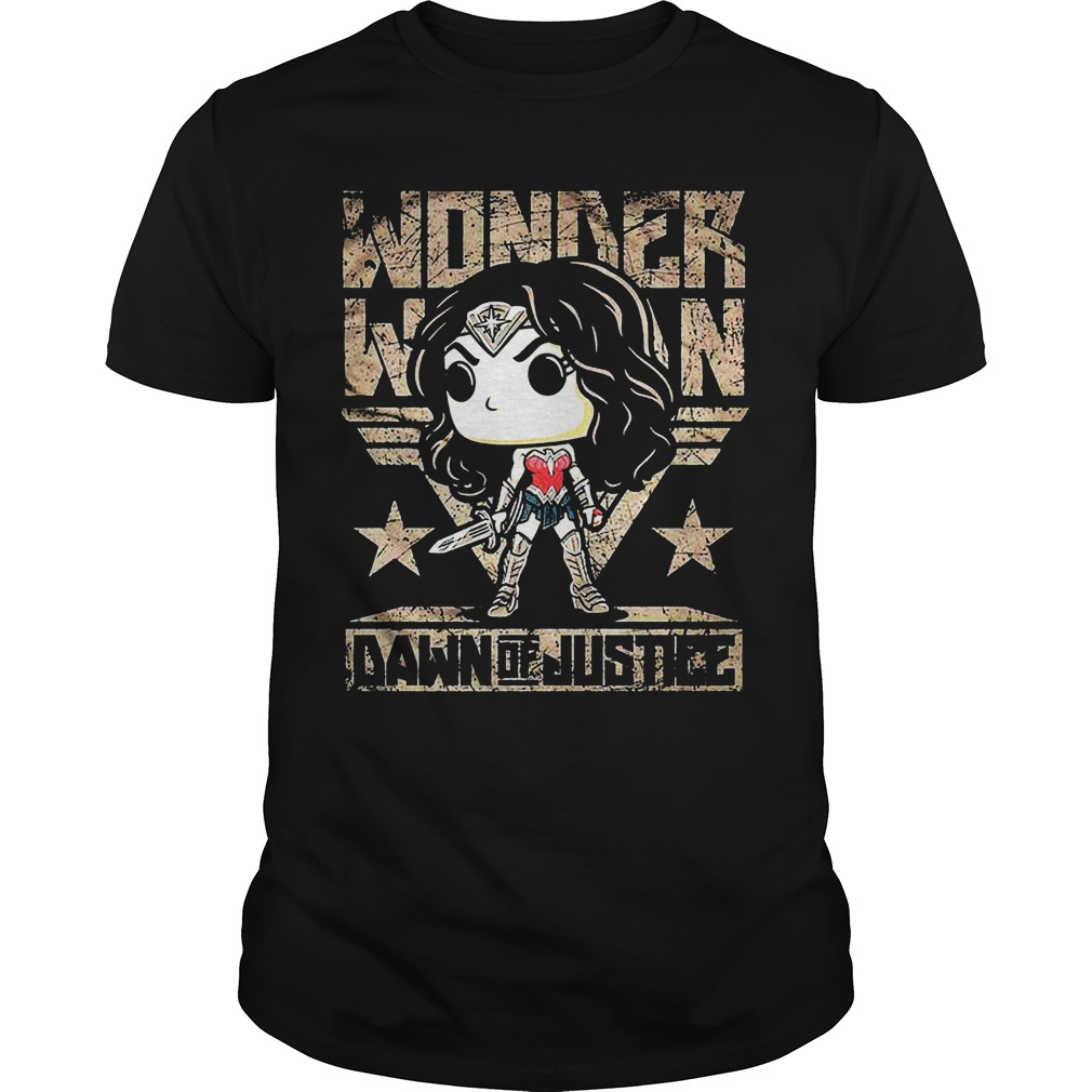 Wonder Woman Dawn Justice Guys Tee