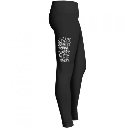 Young Scrappy Hungry Leggings