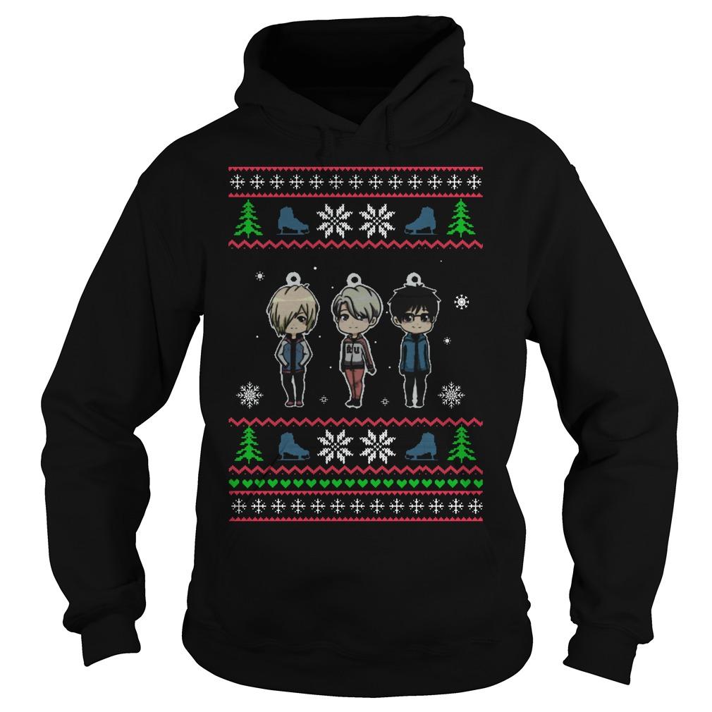 Yuri On Ice Ugly Christmas Hoodie
