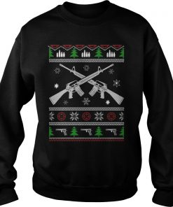 I Want Rifle Guns For Christmas Sweater